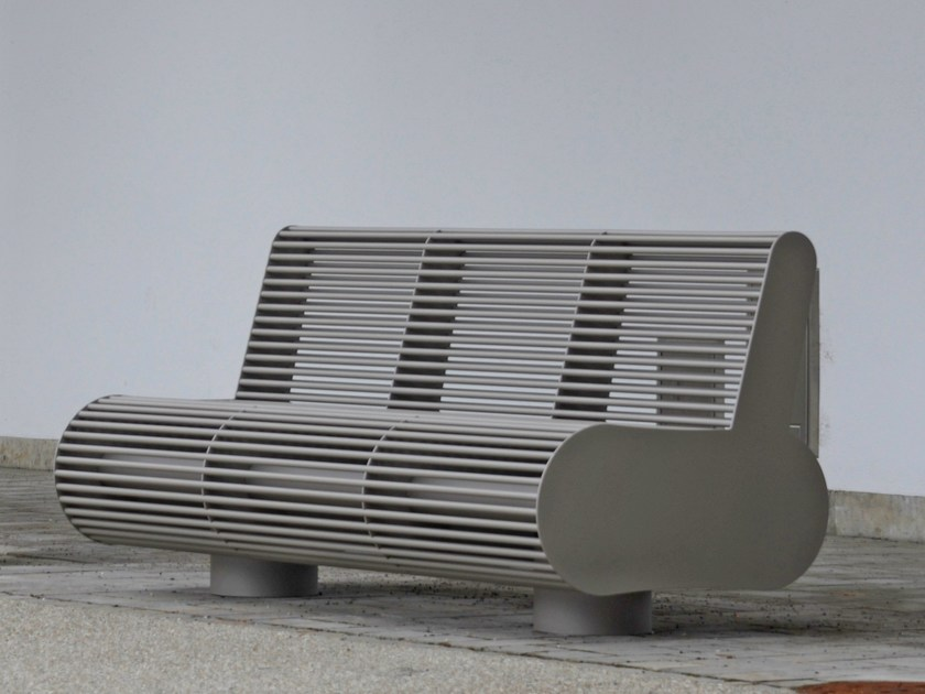 Bench with back SIARDO 700 R | Bench with back by BENKERT BANKE