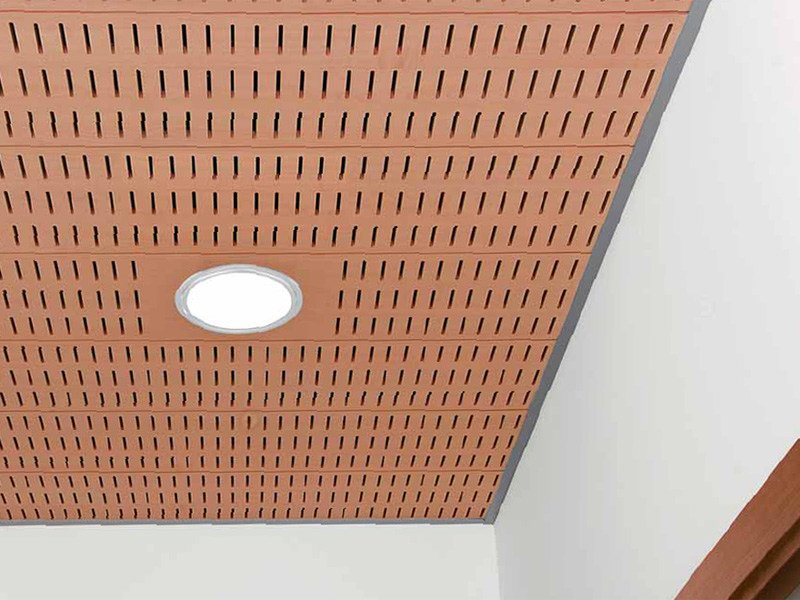 MDF ceiling tiles WOOD SHADE STRIPS by ITP