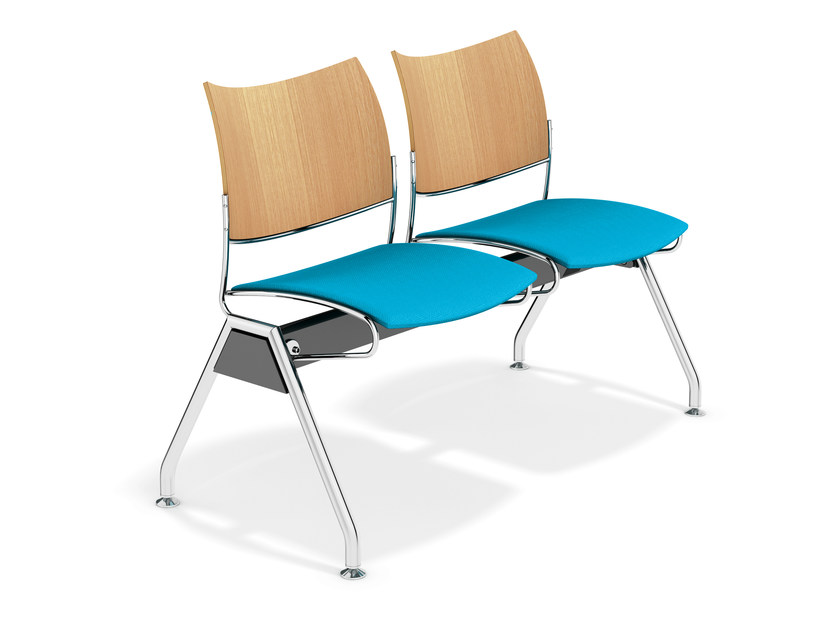 Fabric beam seating CURVY TRAVERSE | Beam seating by Casala