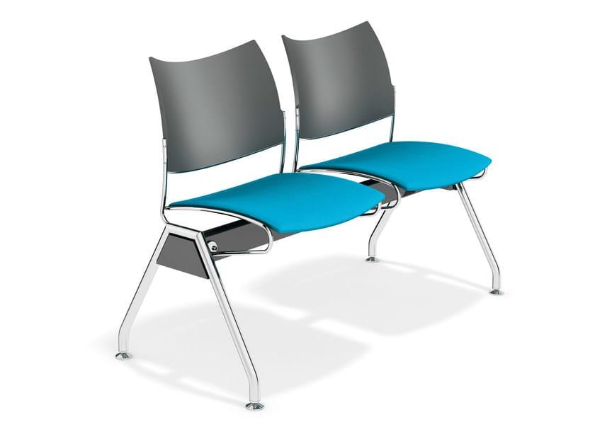 Beam seating CURVY TRAVERSE   Beam seating by Casala