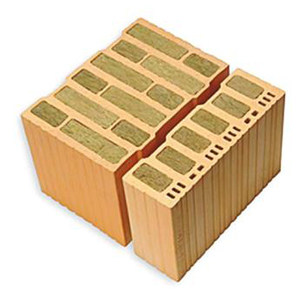 Clay block for loadbearing masonry THERMOPLAN® EXTRA 08 by DECORUS