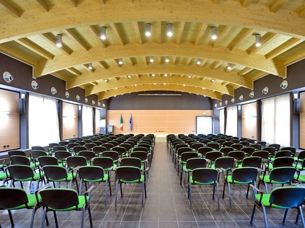 "WOOD SHADE ACOUSTIC SHELL Auditorium ""Unità d'Italia"" - Ossona (Mi)"