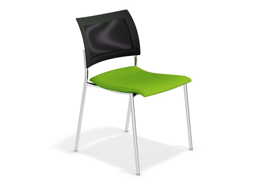 Stackable training chair FENIKS | Stackable chair by Casala
