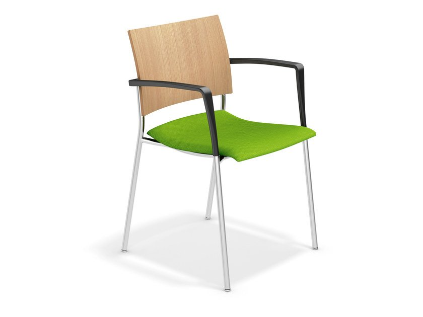 Training chair with armrests FENIKS | Chair with armrests by Casala