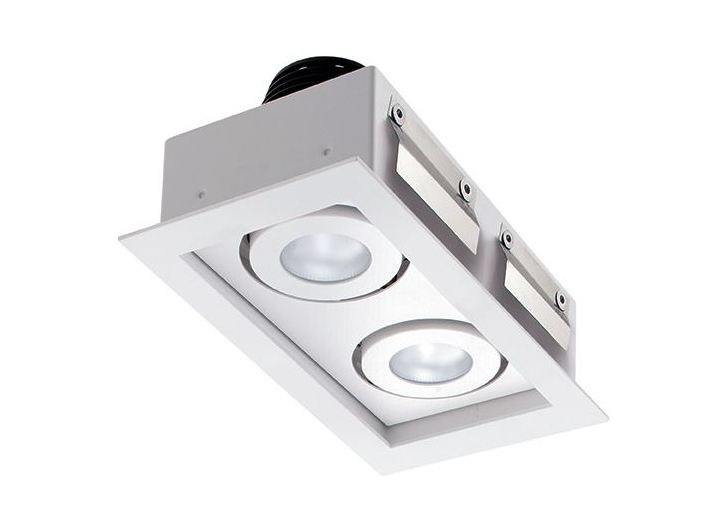 LED adjustable recessed spotlight Quad Maxi 3.2 by L&L Luce&Light