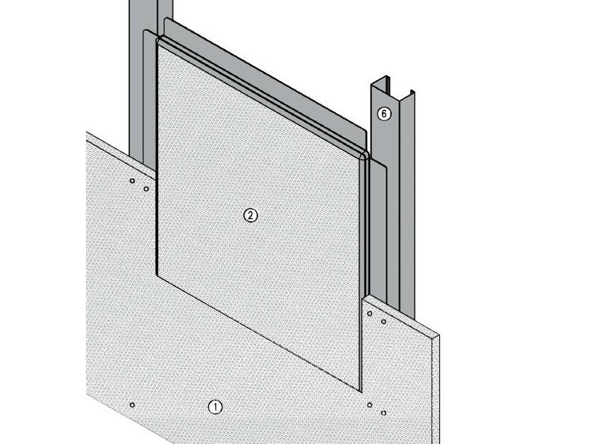 Fireproof inspection chamber for partition walls AKIFIRE WALL 120 - EI120 by ITP