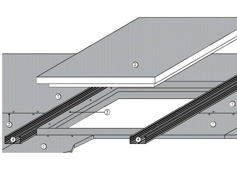Fireproof inspection chamber for suspended ceiling ITP FIRE PLUS EI 13 - REI30 - REI60 by ITP