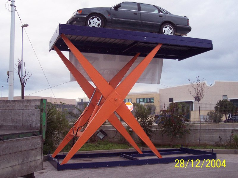 Parking lift Parking lift by RDT Elevazione