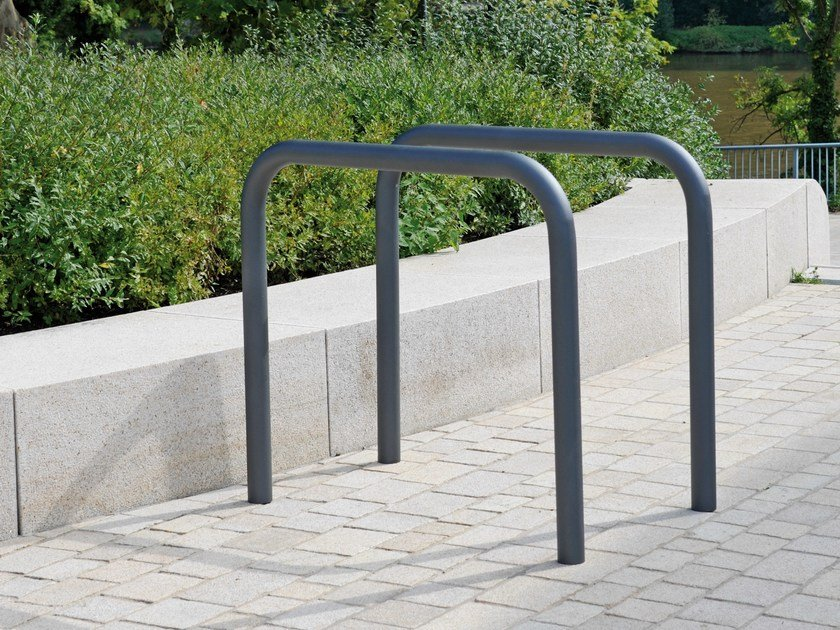 Metal Bicycle rack BIKE STAND C200 by BENKERT BÄNKE