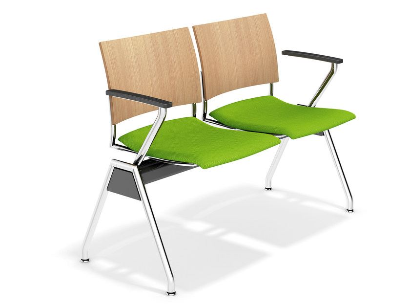 Beam seating with armrests FENIKS TRAVERSE | Beam seating by Casala