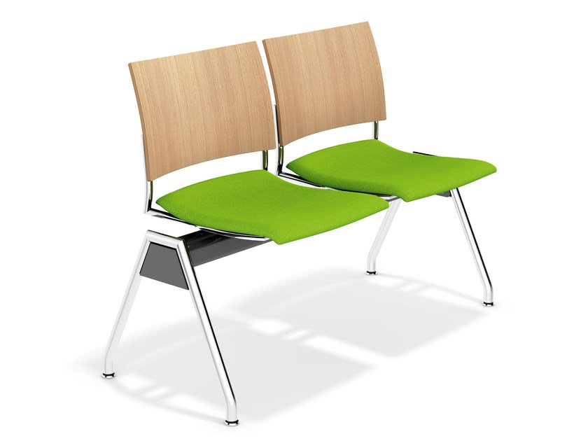 Fabric beam seating FENIKS TRAVERSE | Beam seating by Casala