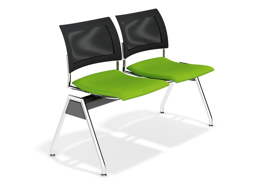 Fabric beam seating FENIKS TRAVERSE   Beam seating by Casala