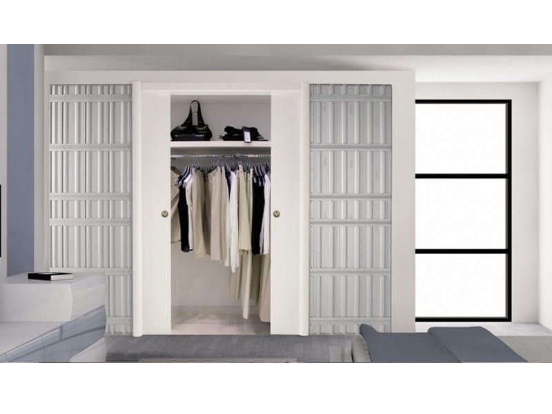 contre ch ssis pour une porte coulissante de hauteur r duite vario by scrigno. Black Bedroom Furniture Sets. Home Design Ideas