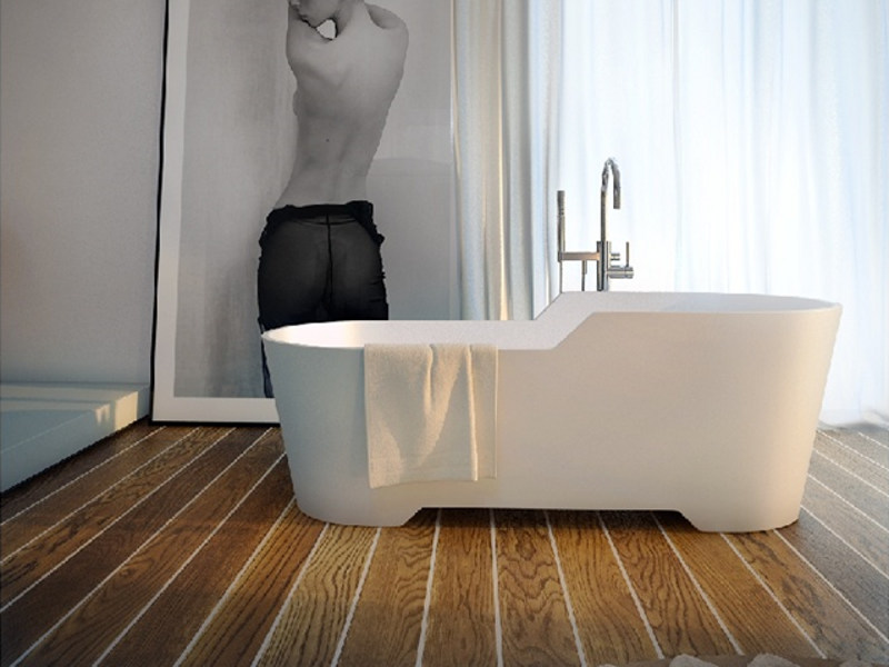 Corian® bathtub PROVENCE LITE 5 by MOMA Design