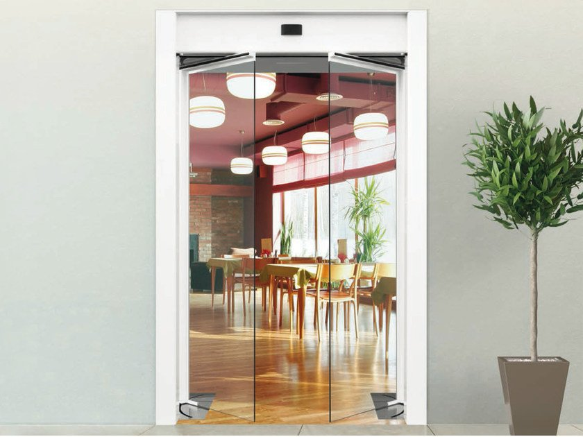 Automatic entry door GBF1500 by FAAC