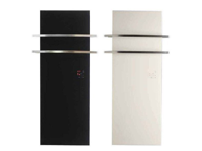 Electric glass towel warmer THERMOVIT EDEN by Glassolutions