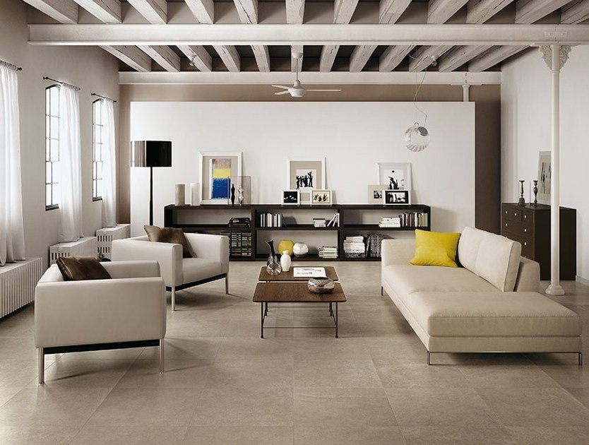 Porcelain stoneware flooring DESERT   Flooring by FAP ceramiche