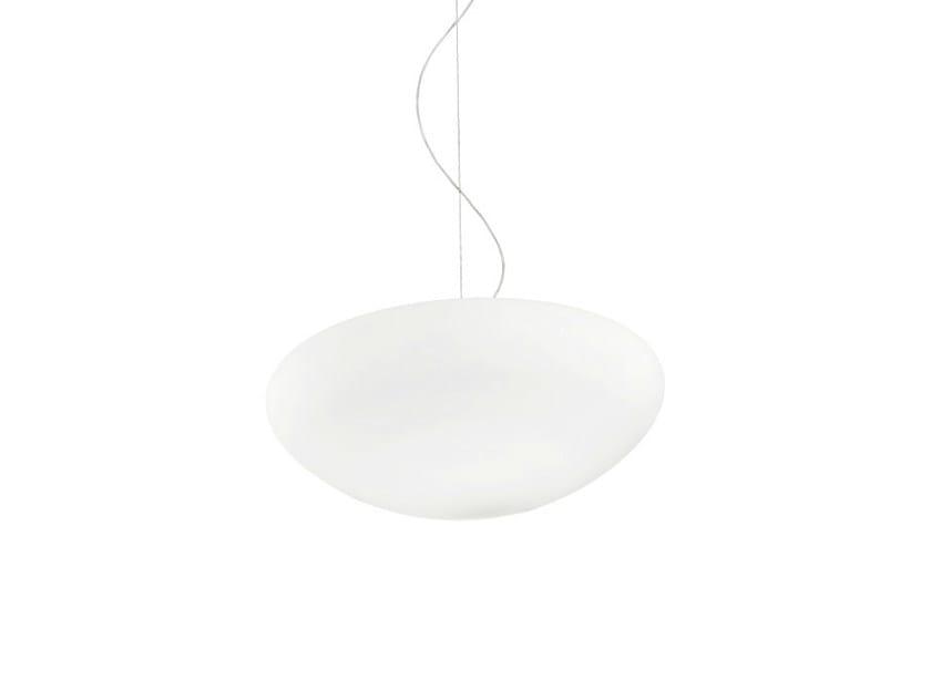 Glass pendant lamp MIA SP by Vetreria Vistosi