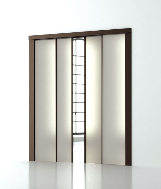 Frame for telescopic doors SURPRISE by SCRIGNO