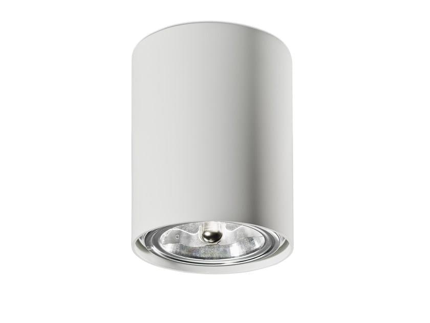 Ceiling aluminium spotlight NAKED C by Vertigo Bird