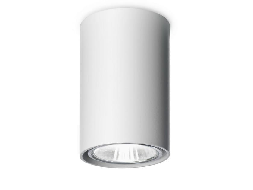Ceiling aluminium spotlight NAKED D by Vertigo Bird