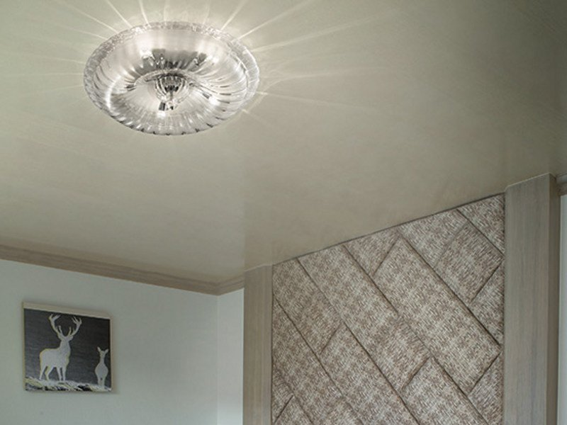 Crystal ceiling lamp NOVECENTO PP by Vetreria Vistosi