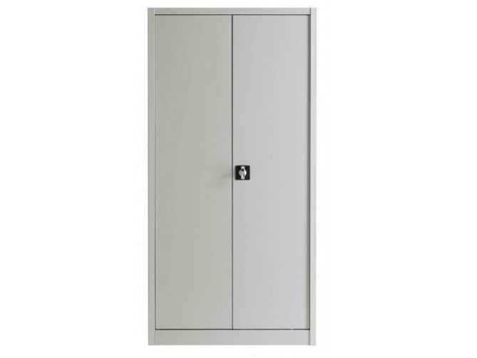 Metal office storage unit with hinged doors with lock Metal office storage unit by Castellani.it
