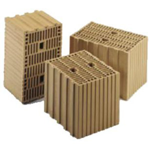 Clay building block THERMOBLOCK® T 16 by DECORUS