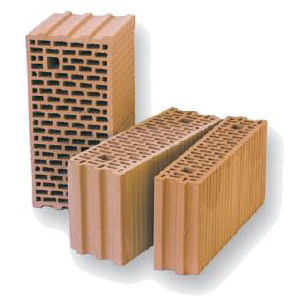 Clay block for internal partition THERMOBLOCK® HLZ TS² by DECORUS