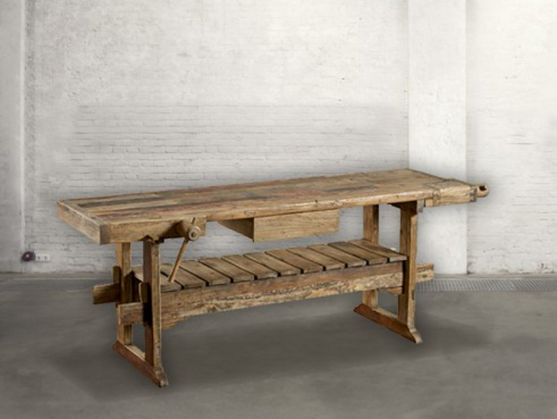 Rectangular pine console table DB003045 | Console table by Dialma Brown