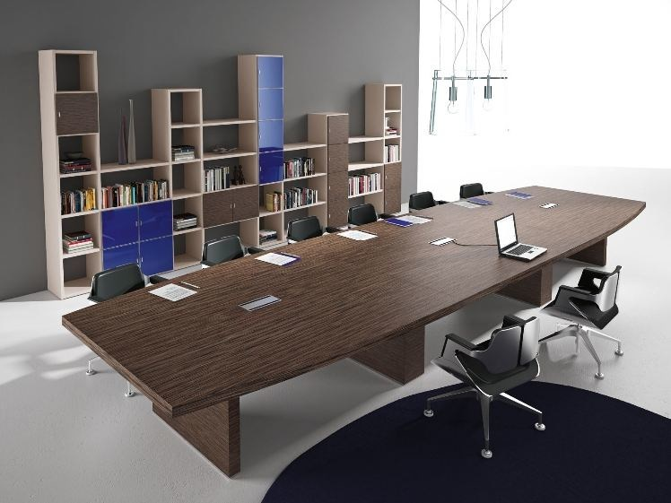 Wooden meeting table TITANO | Wooden meeting table by Castellani.it