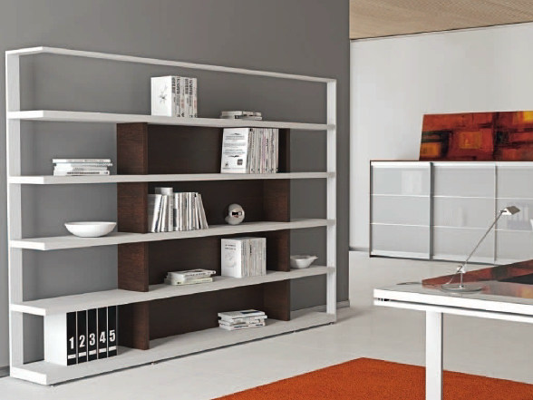 Libreria ufficio in legno ARCHIMEDE | Libreria ufficio by Castellani.it