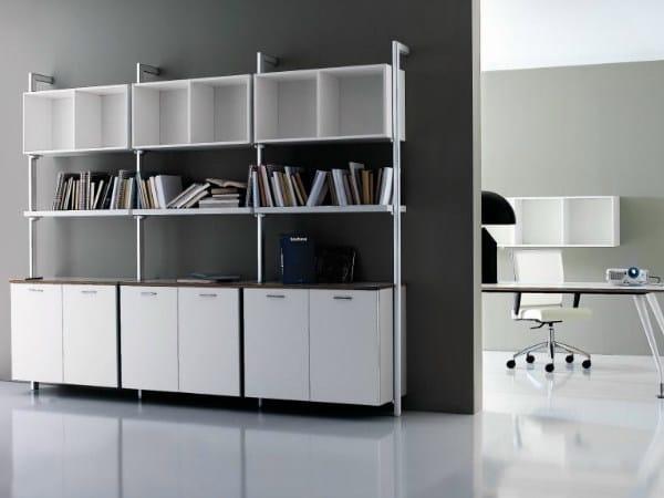 Modular office shelving MIRÒ | Office shelving by Castellani.it