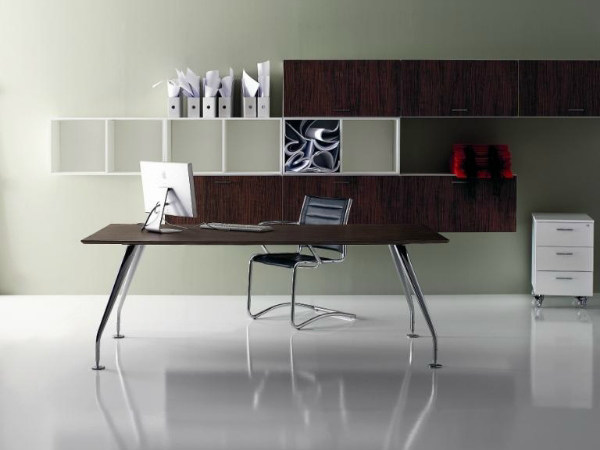 Rectangular office desk MIRÒ | Rectangular office desk by Castellani.it