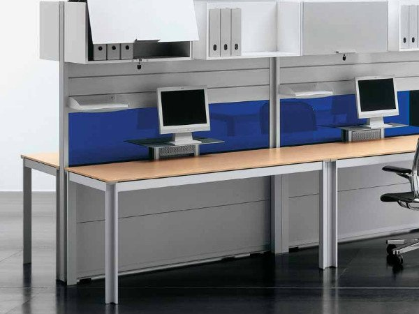 Multiple wooden office workstation ZEFIRO SYS | Multiple office workstation by Castellani.it