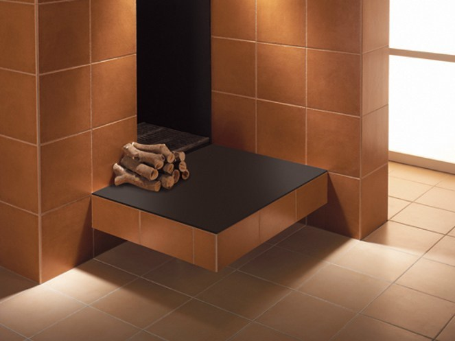 Wall/floor tiles with terracotta effect EDICER MONSARAZ by Revigrés