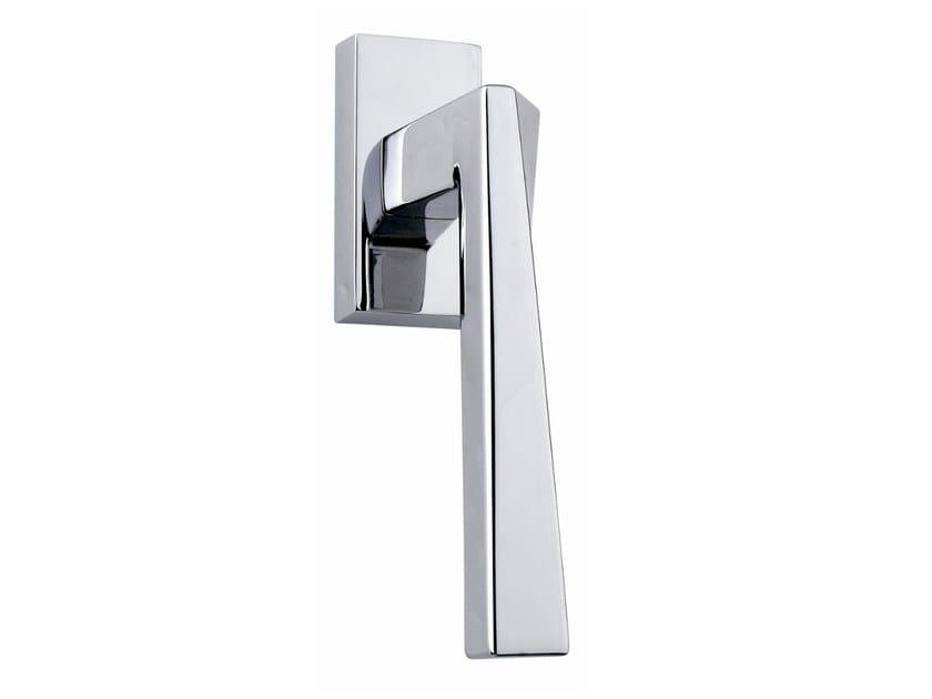 DK brass window handle SWEEP   Window handle by Frascio