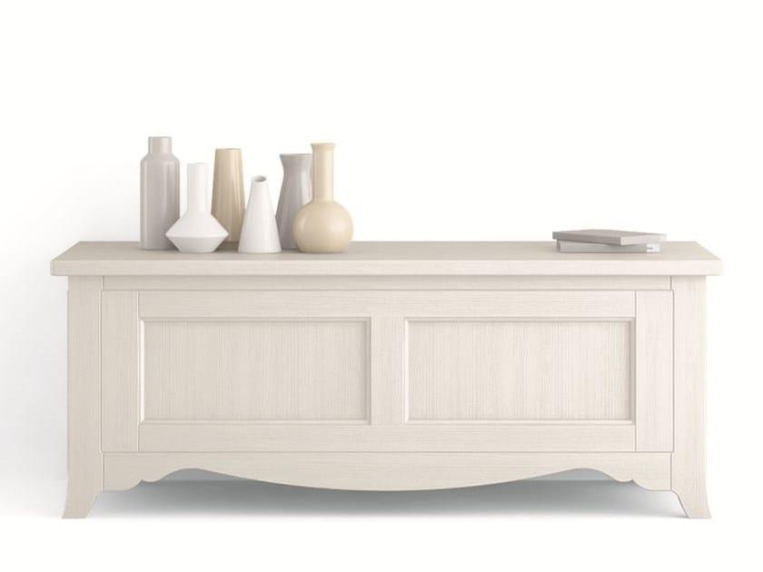 Wooden storage chest TABIÀ | Storage chest by Scandola Mobili