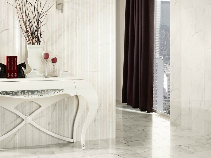 Porcelain stoneware wall tiles / flooring VENATO by Revigrés