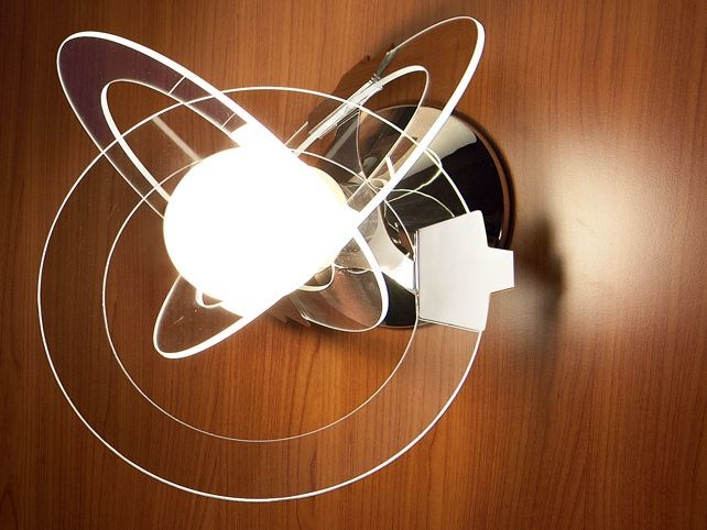 Indirect light glass wall light ORBIT | Wall light by Cattaneo