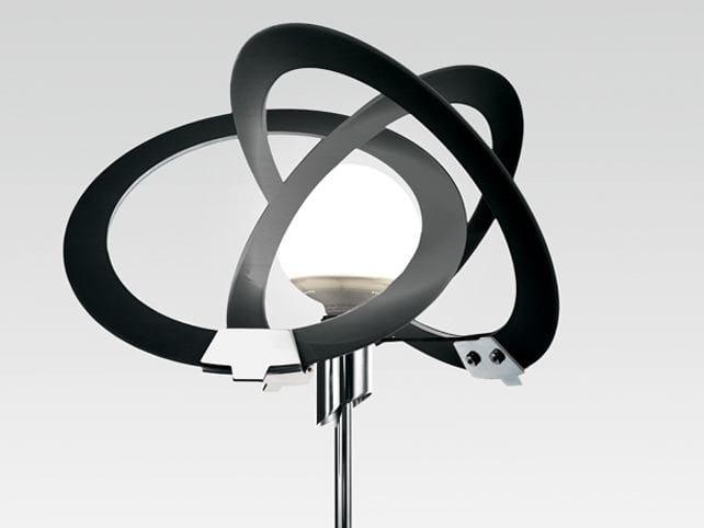 Indirect light glass floor lamp ORBIT | Floor lamp by Cattaneo