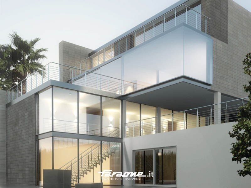 Stainless steel balustrade IRIS by FARAONE