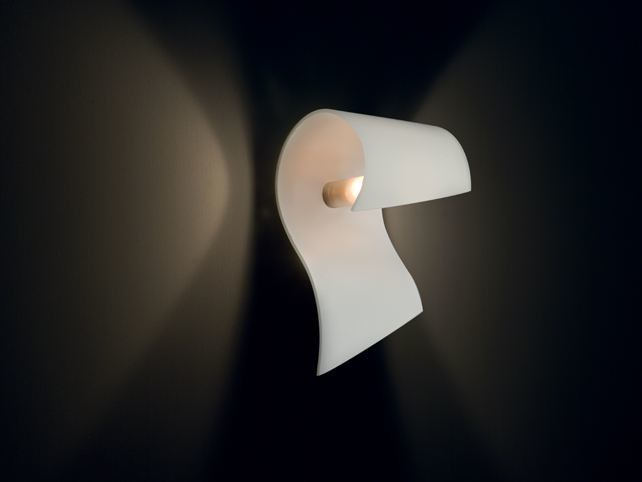 Indirect light glass wall light CARRIE | Wall light by Cattaneo