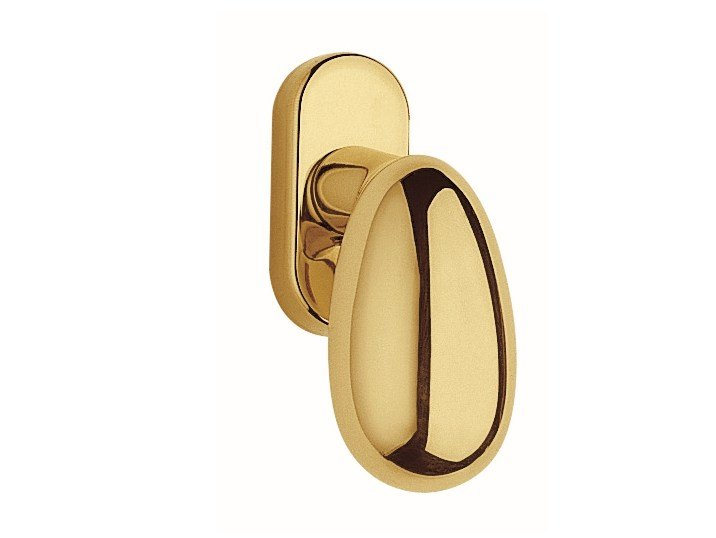 DK brass window handle UOVO | DK window handle by Frascio