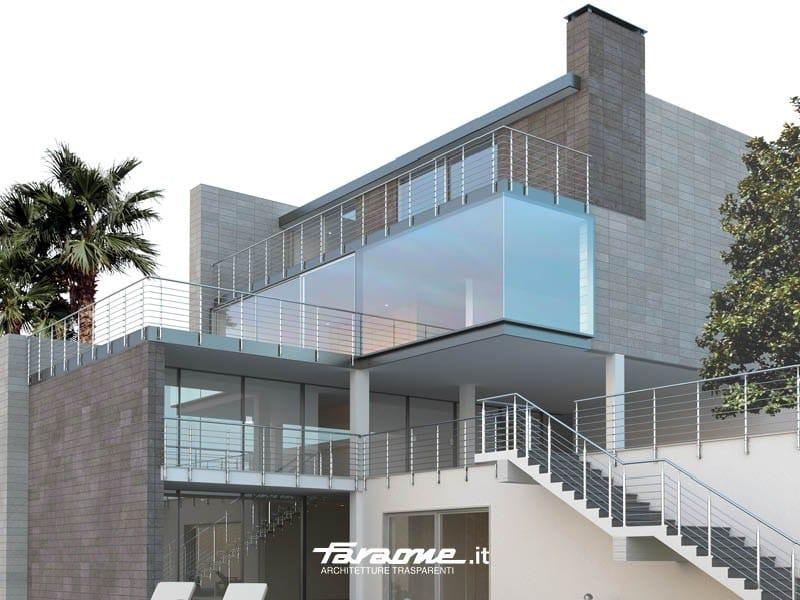 Stainless steel balustrade YUMA by FARAONE