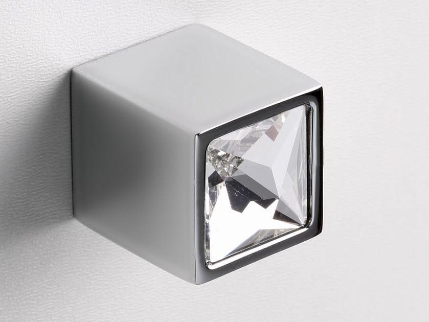 Furniture knob satin chrome SPARKLE SUITE   Furniture knob by Frascio