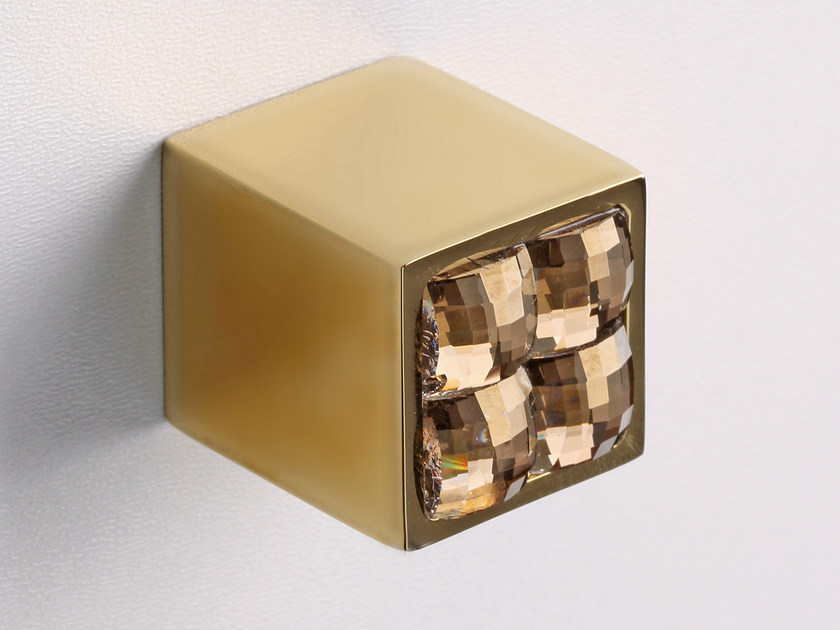 Furniture knob inoxbrass SPARKLE SUITE | Furniture knob by Frascio