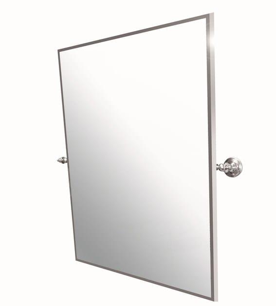 Tilting rectangular mirror AB210M | Tilting mirror by BLEU PROVENCE