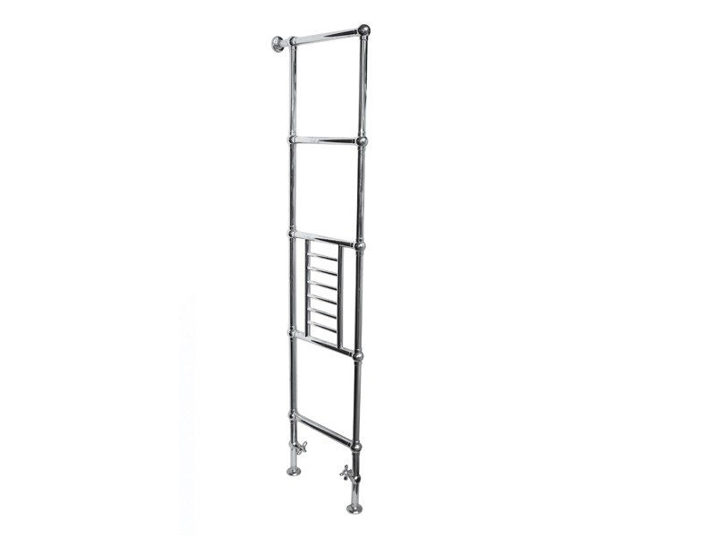 Floor-standing brass towel warmer SSPV5DG | Floor-standing radiator by BLEU PROVENCE
