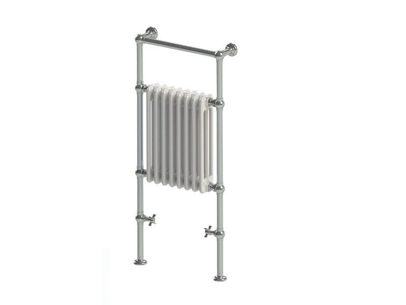 Floor-standing cast iron towel warmer SSPVB3 | Radiator by BLEU PROVENCE